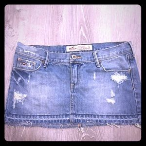 Hollister Jean 3 Mini Sexy Distressed Ripped HH25